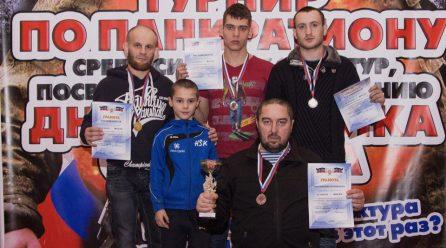 В СК «Спартак» прошел турнир по панкратиону среди силовых структур