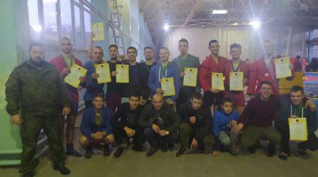 Спортсмены-армейцы заняли призовые места по боевому самбо на соревнованиях в Донецке