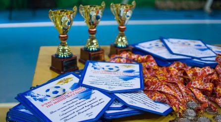 Команда ЦСКА УНМ ДНР по мини-футболу приняла участие в турнире